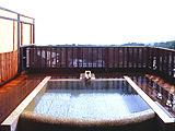 露天風呂付き客室 絶景離れの宿 お宿うち山