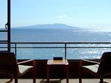 伊豆大島を正面に臨む 眺望絶景の宿 熱川館